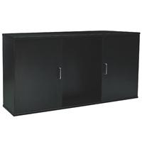 """Fluval Aquarium Cabinet - 48.78"""" x 13.25"""" x 26"""" (124 cm x 33.7 cm x 66 cm) - Black"""