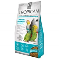 Tropican Lifetime Formula Granules for Parrots - 1.8 kg (4 lb)