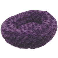 "Dogit Style Dog Donut Bed - Rosebud - Purple - XSmall - 40 cm dia. x 12.7 cm (16"" dia x 5"")"