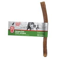 Dogit Natural Cuts Bully Stick - Straight - 15.24 cm (6 in) - 1 pack
