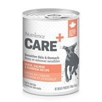 Nutrience Care Sensitive Skin & Stomach Pâté for Dogs - Duck, Salmon & Pumpkin Recipe - 369 g (13 oz)