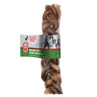 Dogit Natural Cuts Bully Stick - Braided - 15 cm (6 in) - 1 pack