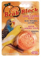 Living World Mineral Block for Parakeets - Orange