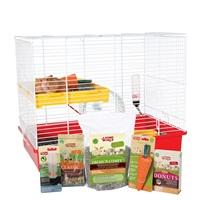 """Living World Deluxe Hamster Starter Kit - 46 cm L X 29 cm W X 37 cm H (18"""" x 11.4"""" x 14.5"""")"""