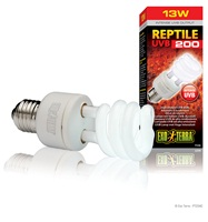 Exo Terra Reptile UVB200 High Output UVB Bulb - 13 W