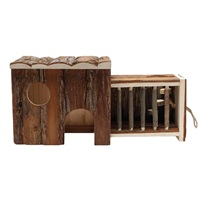 Living World TreeHouse Real Wood - Pullout House