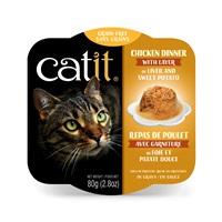 Catit Chicken Dinner with Liver & Sweet Potato - 80 g (2.8 oz)