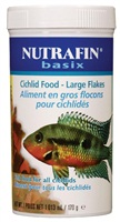 Nutrafin basix Cichlid Food - Large Flakes - 170 g (6 oz)