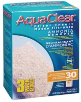 AquaClear 30 Ammonia Remover Filter Insert - 363 g (12.8 oz) - 3 pack
