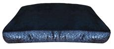 "Dogit Style Rectangular Mattress Dog Bed-Serpentine, Black, Small. 80cm x 55cm x 11.5cm (31.5"" x 21.5"" x 4.5"")"