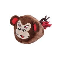 Dogit Stuffies Dog Toy – Big Head Friend - Monkey - 23 cm (9 in)