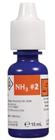 Nutrafin Ammonia Fresh and Saltwater Reagent #2 Refill - 15 ml (0.5 fl oz)