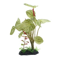"Fluval Decorative Plant Large Lotus - 25 cm (10"") with base"