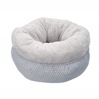 Cat Love DreamWell Cat Snuggle Bed - Gray - 45 cm dia. (17.5 in)