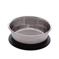 Dogit Stainless Steel Non-Skid Stay-Grip Dog Bowl - 450 ml (15.2 fl.oz.)