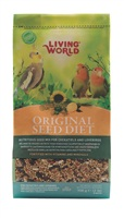 Living World Original Seed Diet for Cockatiels and Lovebirds - 908 g (2 lb)
