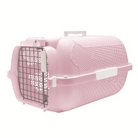 Catit Profile Voyageur Cat Carrier - Pink - Small - 48.3 cm L x 32.6 cm W x 28 cm H (19 in x 12.8 in x 11 in)