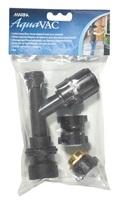 Marina AquaVac Suction Pump with Brass and Garden Faucet Adaptors