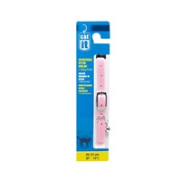 "Catit Buckle Nylon Cat Collar - Pink - 9.5 mm (3/8"") x 20 cm-33 cm (8-13"")"