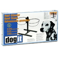 Dogit Adjustable Dog Bowl Stand - Large - Fits 2 x 2L (67.2 oz) dog bowls
