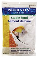 Nutrafin basix Staple Food - Poly bag - 226.8 g (8 oz)