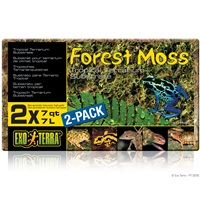 Exo Terra Forest Moss - 2 x 7 qt (2 x 7 L)