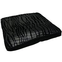 "Dogit Style Square Mattress Dog Bed-Savage, Black,Small. 64cm x 64cm x 12.7cm (25"" x 25"" x 5"")."