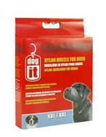 """Dogit Nylon Dog Muzzle - Black - XX Large - 30 cm (12"""")"""