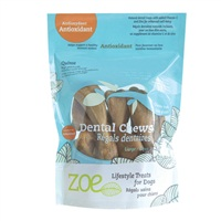 Zoe Lifestyle Treats for Dogs - Antioxidant Dental Chews - Large - 253 g (8.9 oz)