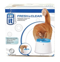 Catit Design Fresh & Clear Cat Drinking Fountain - 2 L (64 oz)
