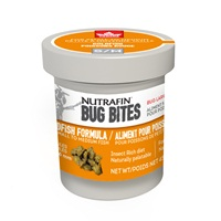 Nutrafin Bug Bites Goldfish Formula - Small to Medium - 1.4-1.6 mm granules - 45 g