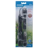 "Marina Submersible Pre-Set Aquarium Heater - 50 W - 22 cm (8.5"")"