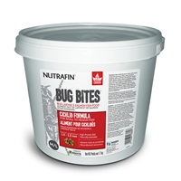Nutrafin Bug Bites Cichlid Formula – Medium to Large Fish - 1.4-2.0 mm granules – 1.7 kg (3.7 lbs)