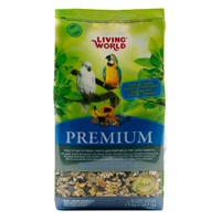 Living World Premium Mix For Large Parrots - 1.7 kg (3.7 lbs)