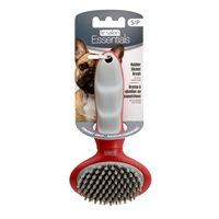 Le Salon Essentials Dog Rubber Slicker Brush - Small