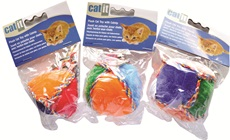 Catit Plush Round Cat Toy with Catnip