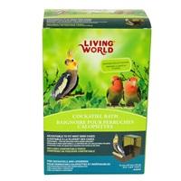 Living World Cockatiel Bath