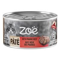Zoë Pâté with Prairie Beef for Cats – 85 g (3 oz)