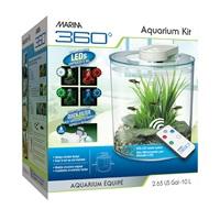 Marina 360 Aquarium Kit - 10 L (2.65 US gal)