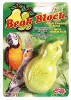 Living World Mineral Block for Cockatiels - Yellow Pear
