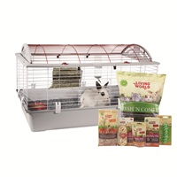 "Living World Deluxe Rabbit Starter Kit - Large - 96 cm L X 57 cm W X 56 cm H (37.8"" X 22.4"" X 22"")"