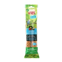 Living World Budgie Sticks - Vegetable Flavour - 60 g (2 oz) - 2 pack
