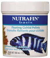 Nutrafin basix Floating Cichlid Pellets - 210 g (7.4 oz)