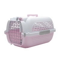 Catit Voyageur Cat Carrier - Pink/White - Small - 48.3 cm L x 32.6 cm W x 28 cm H (19 in x 12.8 in x 11 in)