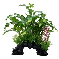 Fluval Aqualife Deco Scapes Curly Aponogeton Mix - 25.5 cm (10 in)