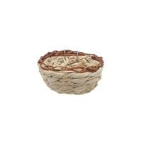 "Living World  Maize Peel Bird Nest for Canaries - 11 cm x 6 cm (4.3"" x 2.4"" in)"