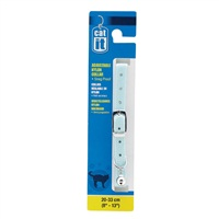 "Catit Buckle Nylon Cat Collar - Blue - 9.5 mm (3/8"") x 20 cm-33 cm (8-13"")"