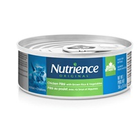 Nutrience Original Kitten - Chicken Pâté with Brown Rice & Vegetables - 156 g (5.5 oz)