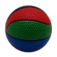"""Dogit Latex Fun Toy with Squeaker - Multi-Colour Ball - 9.5 cm (3.7"""") dia"""