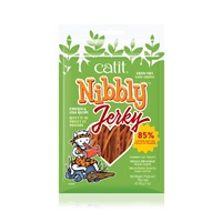 Catit Nibbly Jerky Chicken and Fish Recipe - 30 g (1 oz)